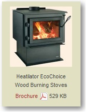 Heatilator Wood Burning Stove
