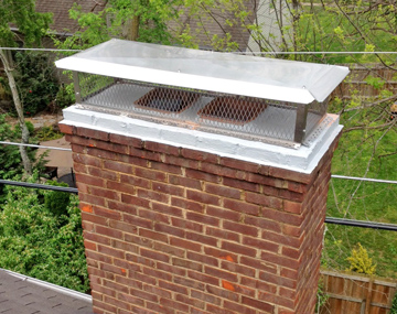 chimney cap and crown seal installed in duluth ga