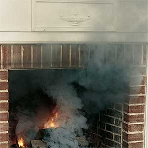 Smoky Fireplace & Fireplace Drafting