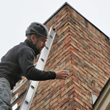 CSIA certified chimney techs perform a chimney inspection on Mt Paran Rd